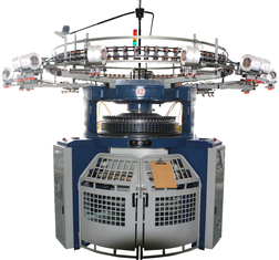 High Production Rib Circular Knitting Machine Double Jersey 2.5T For Elastic Fabric