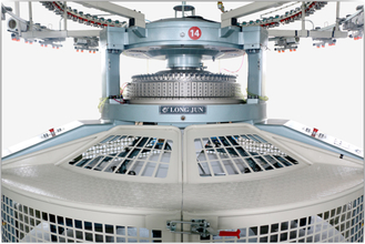 High Efficiency Open Width Circular Knitting Machine Equipped With Roller - Shifting Device