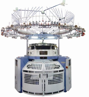 High Speed Single Jersey Jacquard Knitting Machine Making Various Graphic Patterns