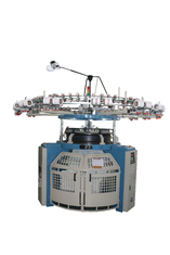 3 Feeds / Inch 4 Track Single Jersey Knitting Machine With Fleece Conversion Kit
