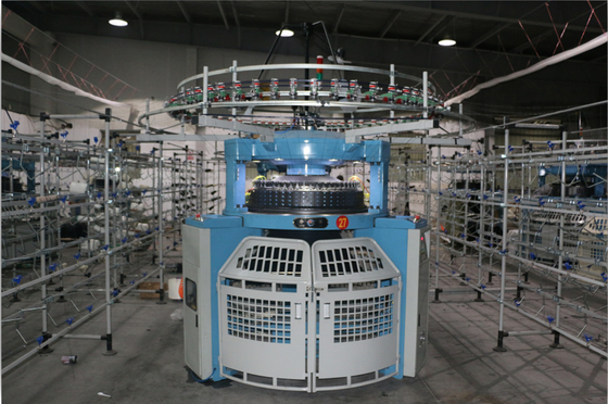 China Good Stability Double Jersey Circular Knitting Machine Fast With Simple Structure supplier