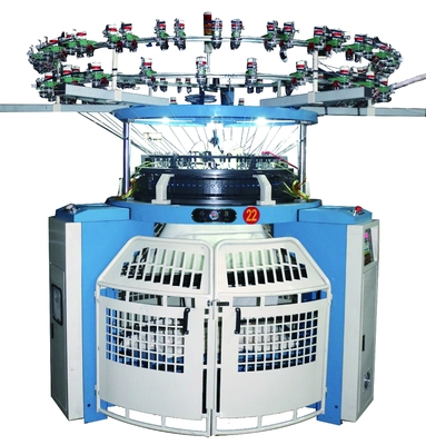 "China 5.5KW Single Jersey Circular Knitting Machine 20'' - 46"" For Children's Clothing distributor"