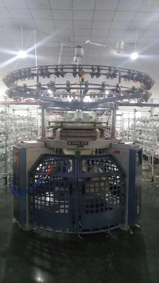 China 2.2T Single Jersey Circular Knitting Machine , Three - Thread Fleece Knitting Machine factory