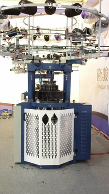 China 2.2KW Body Size Circular Knitting Machine , Small Diameter Fleece Knitting Machine factory