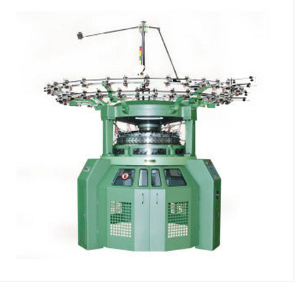 China Pattern Wheel Loop Transfer Rib Knitting Machine Brand New Frame Structure Design factory