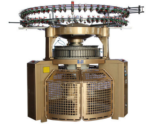China Auto Shearing Double Jersey Circular Knitting Machine , High Pile Loop Circular Knitting Machine distributor