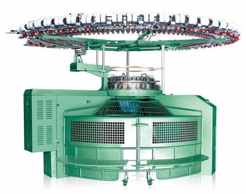 China Open Width Three Fleece Knitting Machine Human Engineering And Streamline Design factory