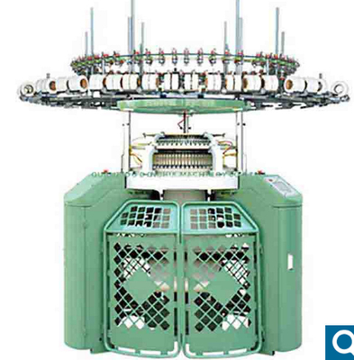 China Unique Sinker Design Double Terry Knitting Machine With Stable Uniform Pile Length factory