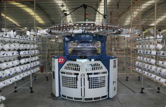 China Automatic Double Jersey Circular Knitting Machine , Double Terry Knitting Machine distributor